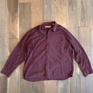 Tommy Bahama Mens XXL Silk Wool Blend Long Sleeve